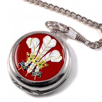 Surrey Feathers Pocket Watch