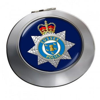 Sussex Police Chrome Mirror