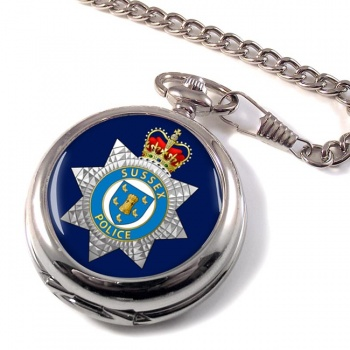 Sussex Police Pocket Watch