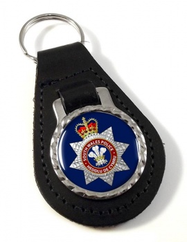 South Wales Police Leather Key Fob