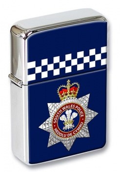 South Wales Police Flip Top Lighter