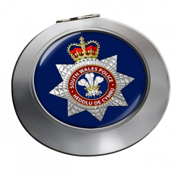 South Wales Police Chrome Mirror