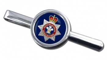 South Wales Police Round Tie Clip