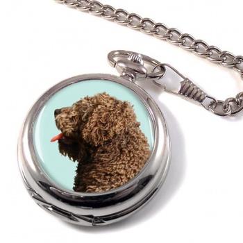 Spanish Water Dog Pocket Watch