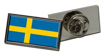 Sweden Sverige Flag Pin Badge