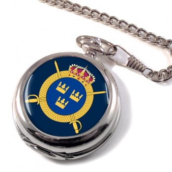 Livregementets husarer (Swedish Hussars) Pocket Watch
