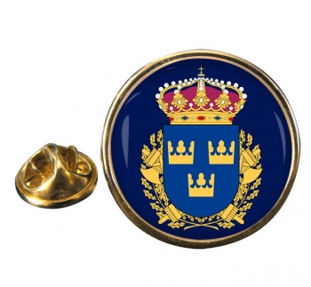Polismyndigheten Round Pin Badge