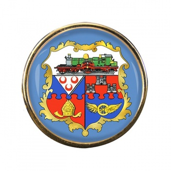 Swindon (England) Round Pin Badge