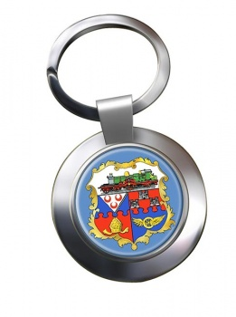 Swindon (England) Metal Key Ring
