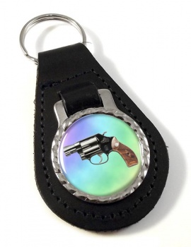 Smith & Wesson Police Special Leather Key Fob