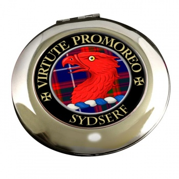 Sydserf Scottish Clan Chrome Mirror
