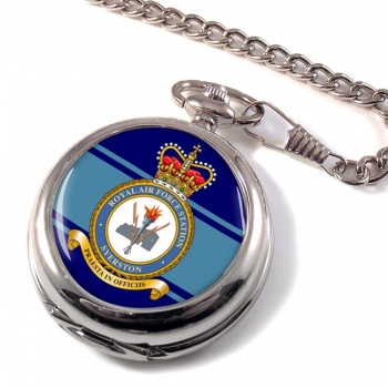 RAF Station Syerston Pocket Watch