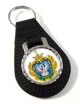 Szolnok Leather Key Fob
