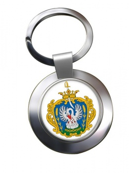 Szolnok Metal Key Ring
