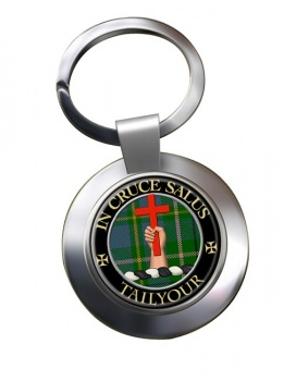 Tailyour Scottish Clan Chrome Key Ring