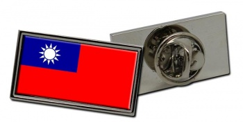 Taiwan Flag Pin Badge
