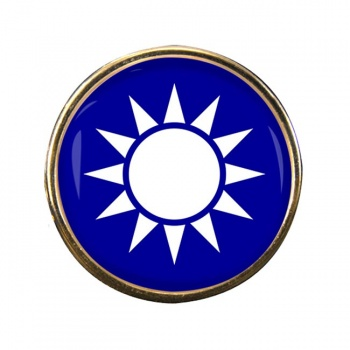Taiwan Round Pin Badge