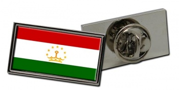 Tajikistan Flag Pin Badge