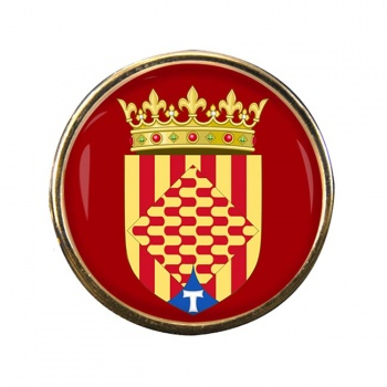 Tarragona (Spain) Round Pin Badge