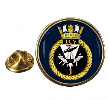 HM Tank Cleaning Vessels (Royal Navy) Round Pin Badge