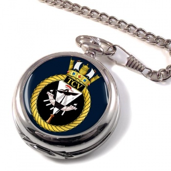 HM Tank Cleaning Vessels (Royal Navy) Pocket Watch
