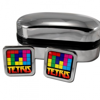 Tetris Square Cufflinks
