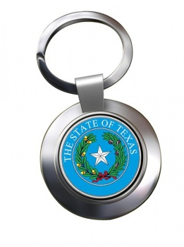 Texas  Metal Key Ring