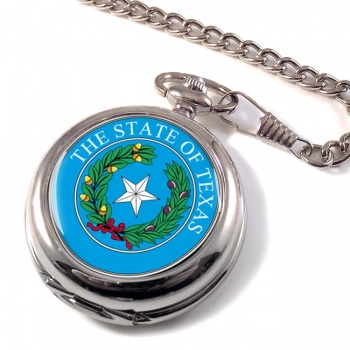 Texas USA Pocket Watch