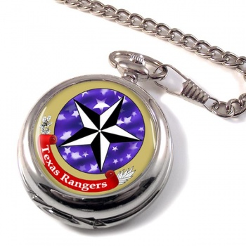 Texas Ranger Division Pocket Watch