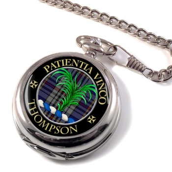 Thompson Scottish Clan Pocket Watch