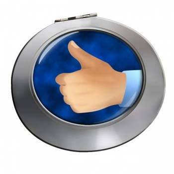 Thumbs Up Chrome Mirror