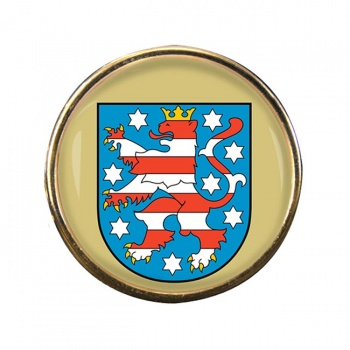 Thuringen (Germany) Round Pin Badge