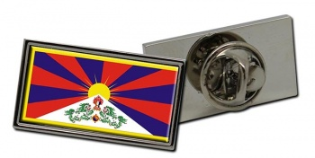 Tibet Flag Pin Badge