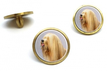 Tibetan Terrier  Golf Ball Marker Set