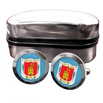 Tlaxcala (Mexico) Crest Cufflinks