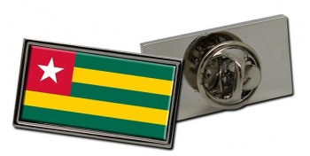 Togo Flag Pin Badge