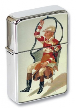 Tom Cannon Jockey Flip Top Lighter