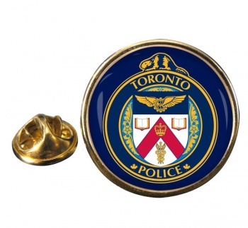 Toronto Police Round Pin Badge