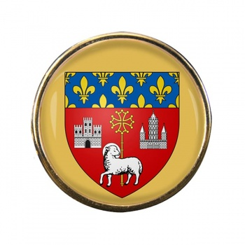 Toulouse (France) Round Pin Badge