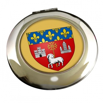 Toulouse (France) Round Mirror