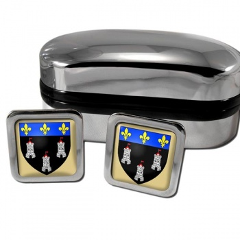 Tours France Square Cufflinks