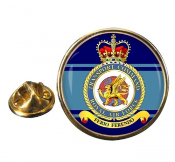Transport Command (Royal Air Force) Round Pin Badge