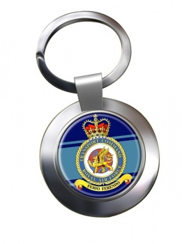 Transport Command (Royal Air Force) Chrome Key Ring
