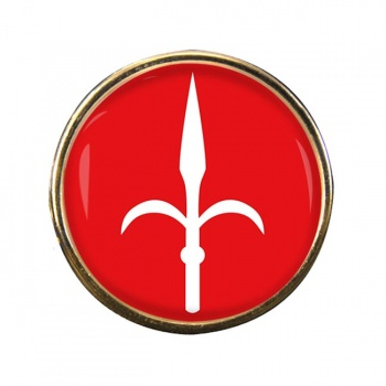 Trieste (Italy) Round Pin Badge