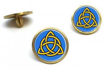 Trinity Knot Golf Ball Markers