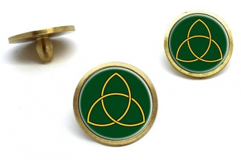 Triquetra Golf Ball Markers