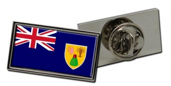 Turks and Caicos Islands Flag Pin Badge