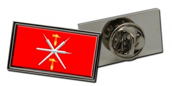 Tula Oblast Flag Pin Badge