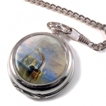 The Fighting Te�me�raire by J.M.W. Turner Pocket Watch