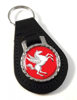 Tuscany Toscana (Italy) Leather Key Fob
